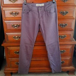 EUC Vanilla Star Gray Skinny Pants Size 9